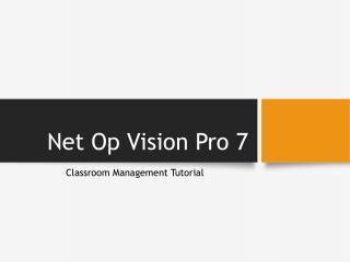 Net Op Vision Pro 7