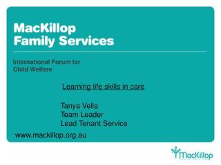 International Forum for Child Welfare
