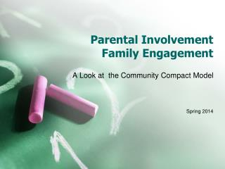 Parental Involvement  Family Engagement