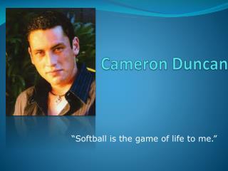 Cameron Duncan
