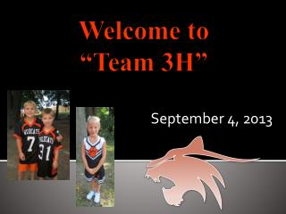 Welcome to  �Team 3H�