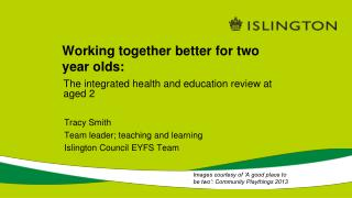 Working together better for two year olds: