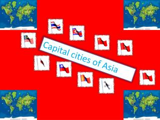 Capital cities of Asia