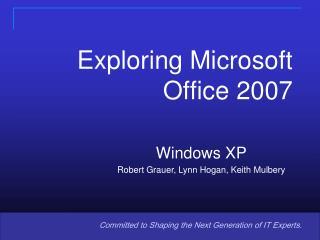 Lecture 02 Windows