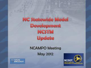 NC Statewide Model Development NCSTM Update
