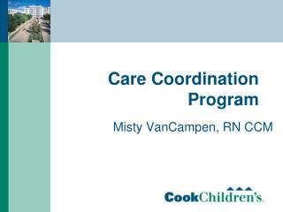 Care Coordination Program