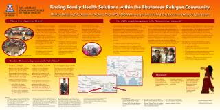 Finding Family Health Solutions within the Bhutanese Refugee Community