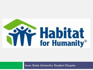Iowa State University Student Chapter