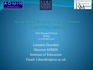 Using Administrative Data to Enhance Longitudinal Research