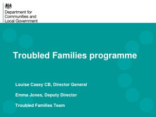 Troubled Families  programme