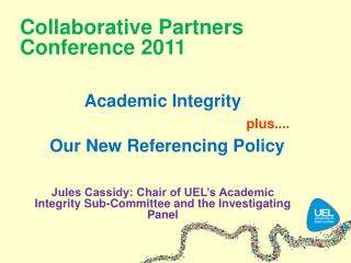 Collaborative Partners Conference 2011