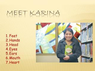 Meet  KARINA