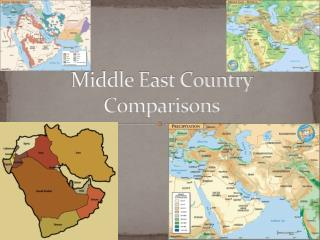 Middle East Country Comparisons