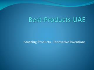 Best - Products - UAE
