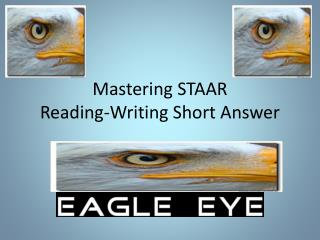 Mastering STAAR   Reading-Writing Short Answer