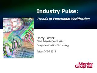 Industry Pulse: Trends in Functional Verification
