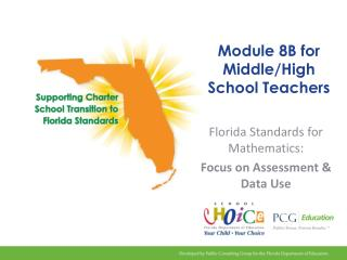 Module 8B for Middle/High School Teachers