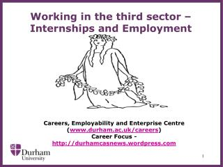 Working in the third  sector – Internships and Employment