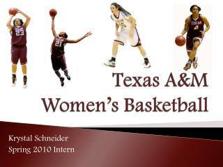 Texas A&M Women's Basketball
