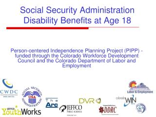 Social Security Administration  Disability Benefits at Age 18