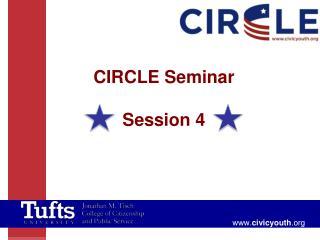 CIRCLE Seminar Session 4