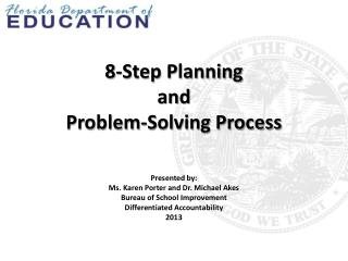 8-Step Planning   and Problem-Solving Process