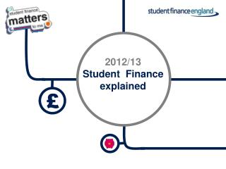 2012/13 Student  Finance explained