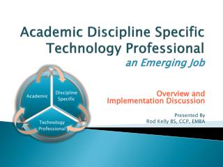 Academic Discipline Specific Technology Professional an Emerging Job