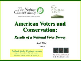 American Voters and Conservation