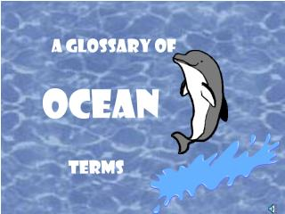 a glossary of