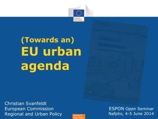 ( Towards an) EU  urban agenda