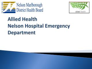 Allied Health  Nelson Hospital Emergency Department