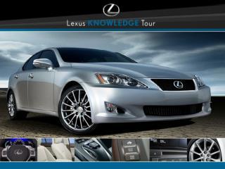 Lexus Navigation, Voice Command and Exterior Cameras