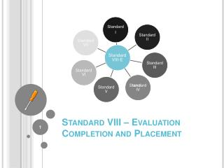Standard VIII – Evaluation Completion and Placement