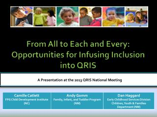 From All to Each and Every: Opportunities for Infusing Inclusion  into QRIS