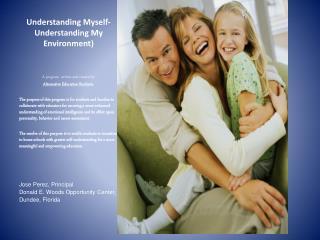 Understanding Myself-Understanding My Environment)