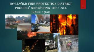 Idyllwild Fire Protection District Proudly Answering the Call Since 1946