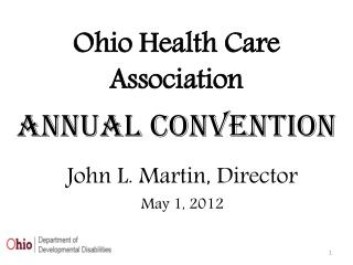 Ohio Health Care Association Annual Convention