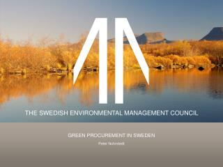 Green  Procurement in Sweden