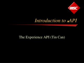 Introduction to  x API