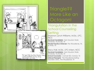Triangulation in the School Counseling Setting