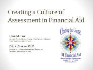 Creating a Culture of Assessment in Financial Aid