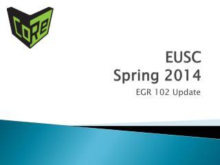 EUSC Spring 2014