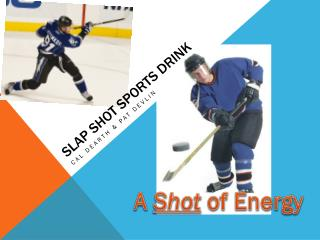 Slap Shot sports drink