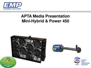 apta media presentation mini-hybrid  power 450