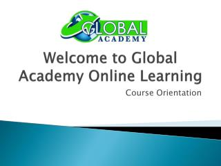 Welcome to Global Academy Online Learning