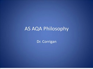 as aqa philosophy