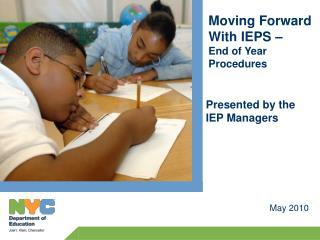 Janet Blit IEP Manager Staten Island Integrated Service Center JBlit@schools.nyc.gov