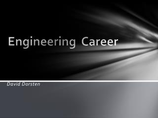 Engineering  Career