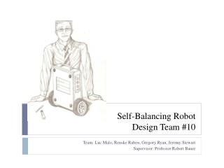 Self-Balancing Robot Design Team #10